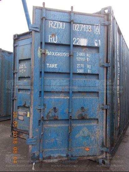 Изображение 20-футовый б/у контейнер №0271336