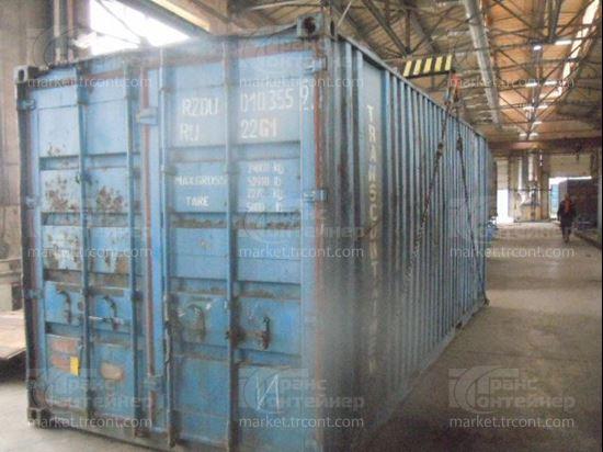 Изображение 20-футовый б/у контейнер №0103559