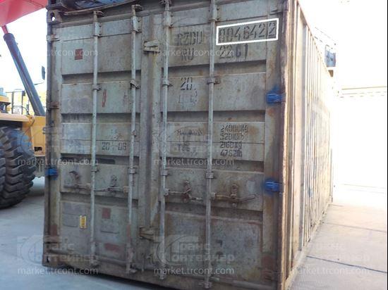Изображение 20-футовый б/у контейнер №0046422