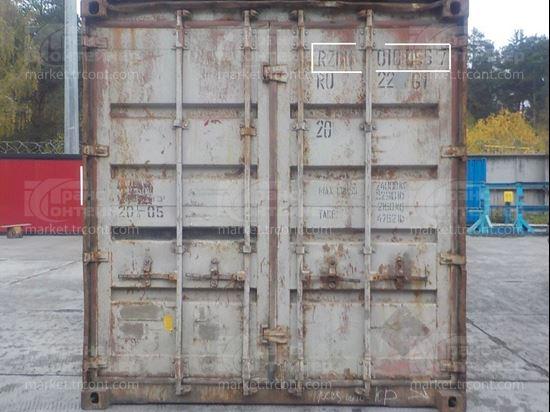 Изображение 20-футовый б/у контейнер №0108967