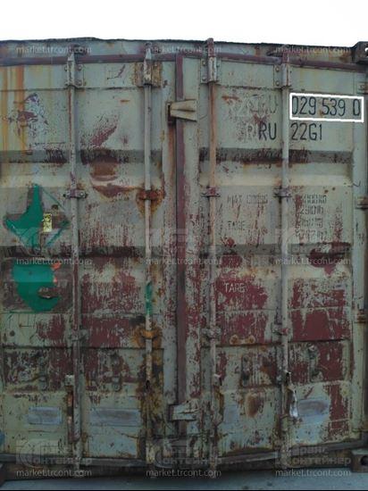 Изображение 20-футовый б/у контейнер №0295390
