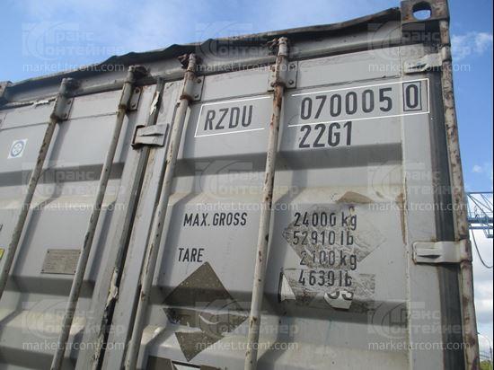 Изображение 20-футовый б/у контейнер №0700050