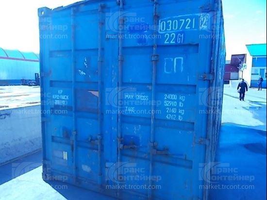 Изображение 20-футовый б/у контейнер №0307212