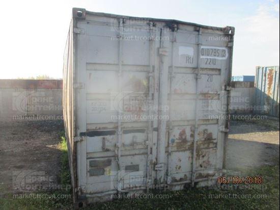 Изображение 20-футовый б/у контейнер №0107852