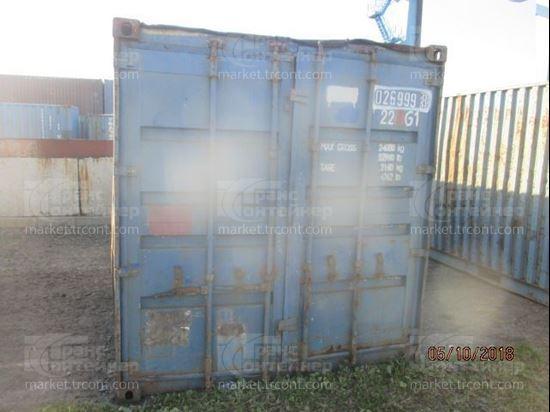 Изображение 20-футовый б/у контейнер №0269998
