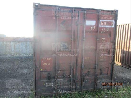 Изображение 20-футовый б/у контейнер №0416018
