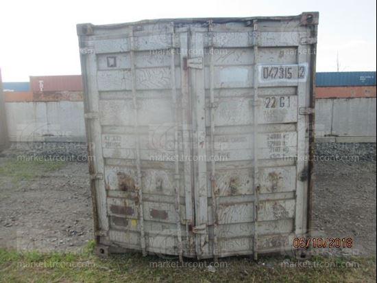Изображение 20-футовый б/у контейнер №0473152