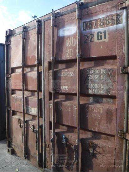 Изображение 20-футовый б/у контейнер №0578868