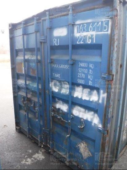 Изображение 20-футовый б/у контейнер №0636115