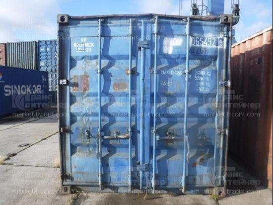 Изображение 20-футовый б/у контейнер №0654926
