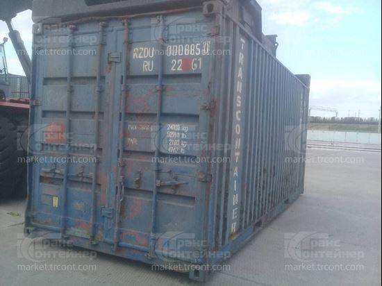Изображение 20-футовый б/у контейнер №0008850