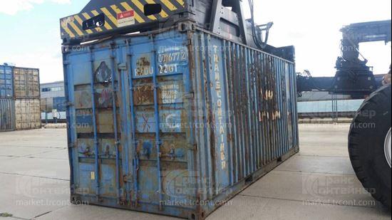Изображение 20-футовый б/у контейнер №0076772