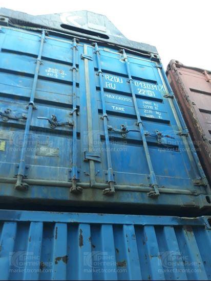 Изображение 20-футовый б/у контейнер №0130317