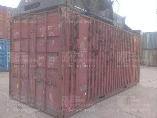 Изображение 20-футовый б/у контейнер №0143818