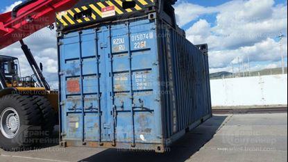 Изображение 20-футовый б/у контейнер №0150740