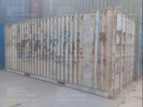 Изображение 20-футовый б/у контейнер №0166618