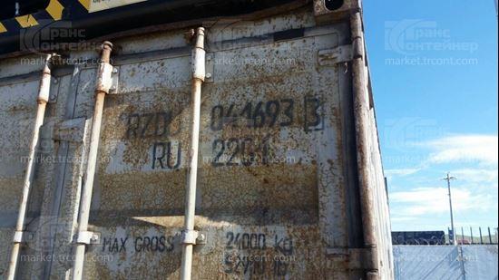 Изображение 20-футовый б/у контейнер №0416933