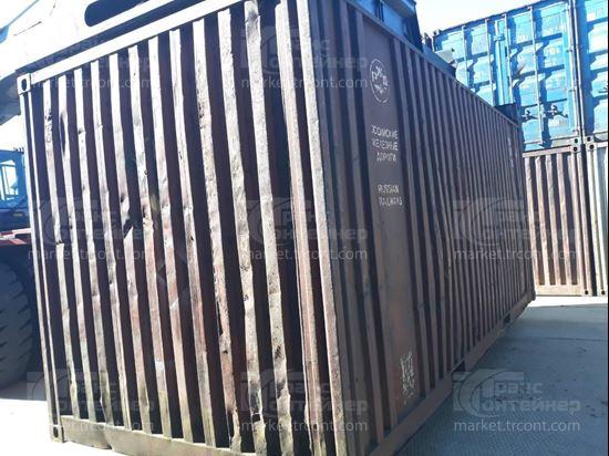Изображение 20-футовый б/у контейнер №0424836