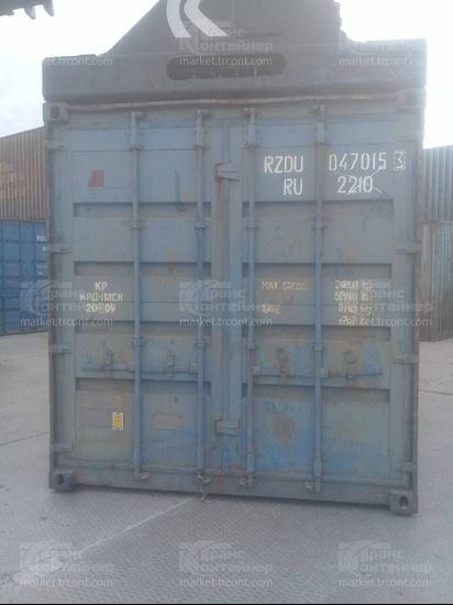 Изображение 20-футовый б/у контейнер №0470153
