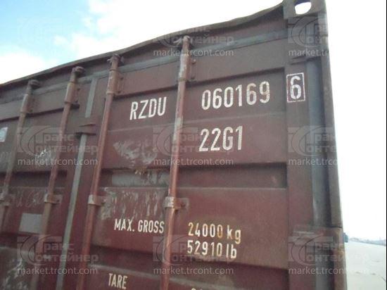 Изображение 20-футовый б/у контейнер №0601696
