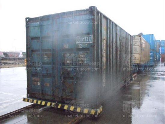 Изображение 20-футовый б/у контейнер №0001330