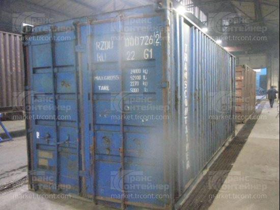 Изображение 20-футовый б/у контейнер №0007262