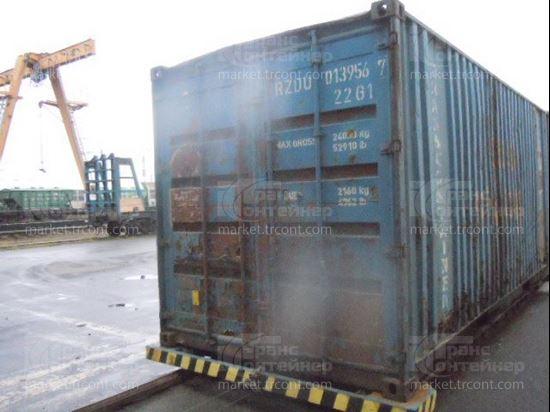 Изображение 20-футовый б/у контейнер №0139567