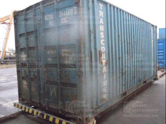 Изображение 20-футовый б/у контейнер №0144603