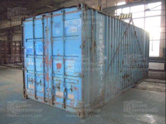 Изображение 20-футовый б/у контейнер №0200902