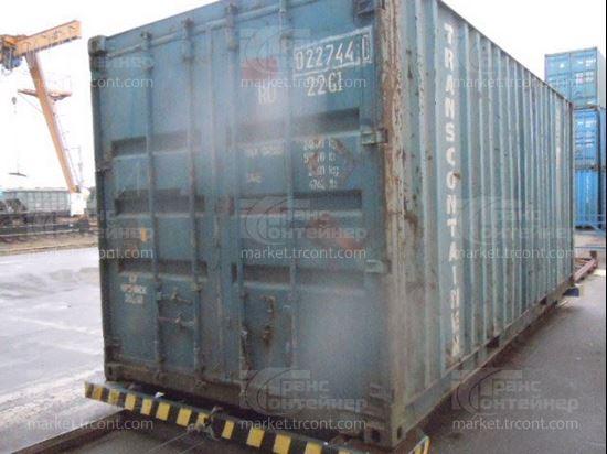 Изображение 20-футовый б/у контейнер №0227441