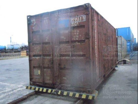 Изображение 20-футовый б/у контейнер №0235339
