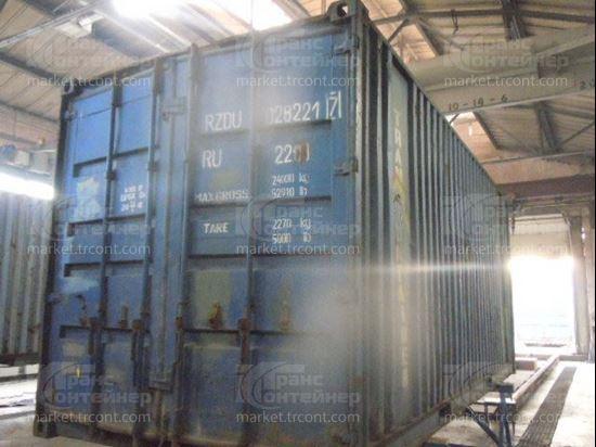 Изображение 20-футовый б/у контейнер №0282217