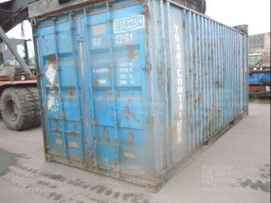 Изображение 20-футовый б/у контейнер №0303264