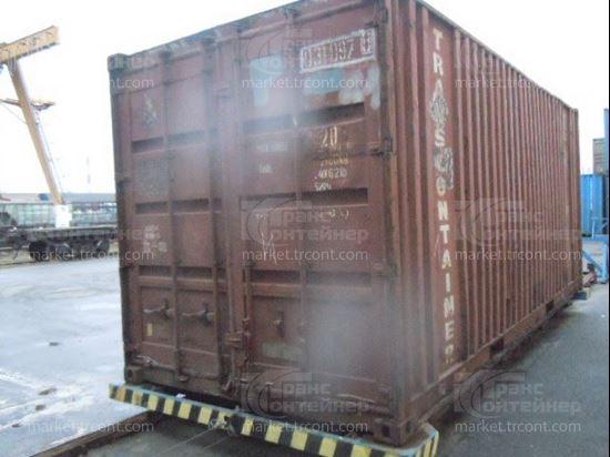 Изображение 20-футовый б/у контейнер №0310978