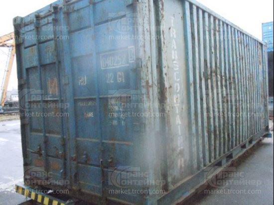 Изображение 20-футовый б/у контейнер №0402523