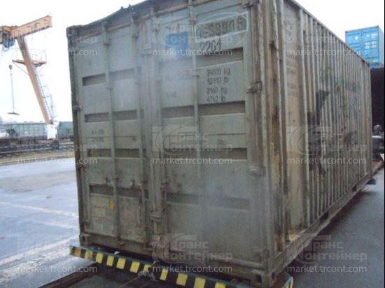 Изображение 20-футовый б/у контейнер №0633815