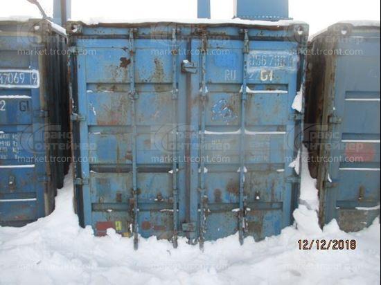 Изображение 20-футовый б/у контейнер №0567884