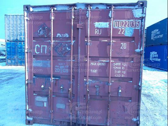 Изображение 20-футовый б/у контейнер №0022035