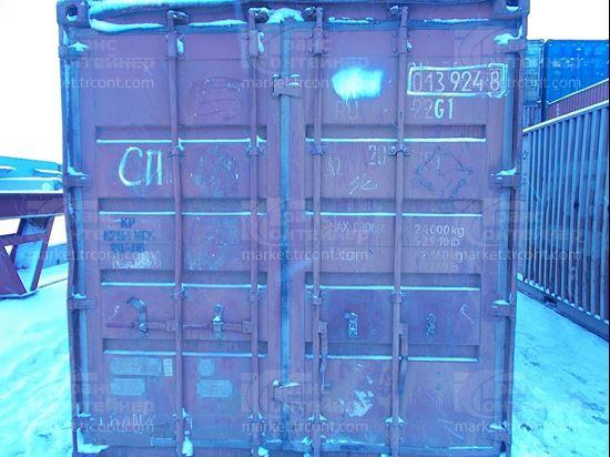 Изображение 20-футовый б/у контейнер №0139248