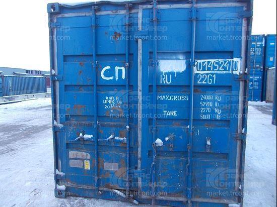 Изображение 20-футовый б/у контейнер №0145240
