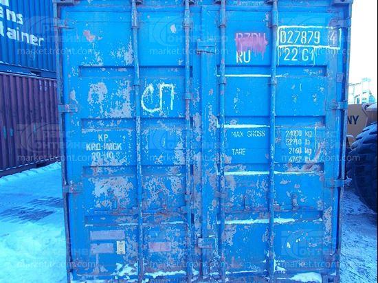 Изображение 20-футовый б/у контейнер №0278794