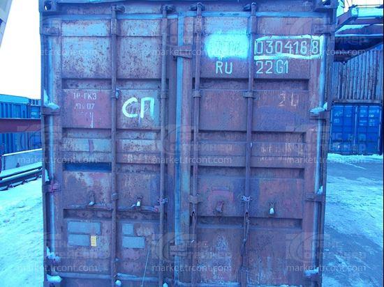 Изображение 20-футовый б/у контейнер №0304168