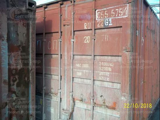 Изображение 20-футовый б/у контейнер №0555754
