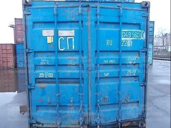 Изображение 20-футовый б/у контейнер №0495608