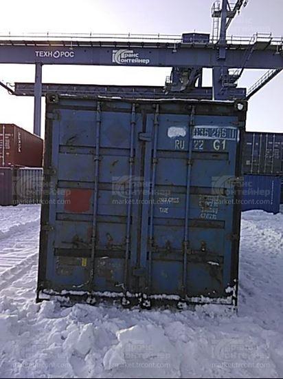 Изображение 20-футовый б/у контейнер №0362061