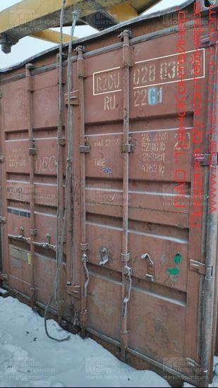 Изображение 20-футовый б/у контейнер №0288365