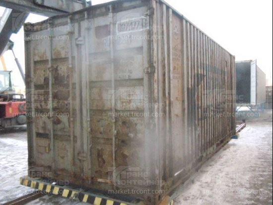 Изображение 20-футовый б/у контейнер №0071770