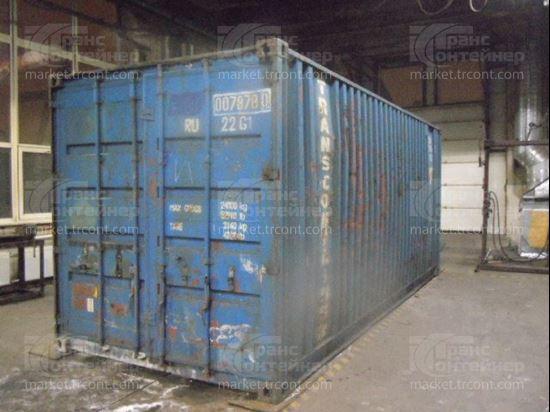 Изображение 20-футовый б/у контейнер №0078780