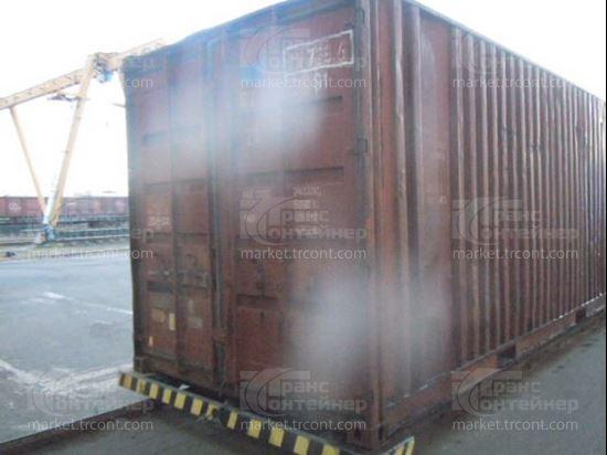 Изображение 20-футовый б/у контейнер №0117296