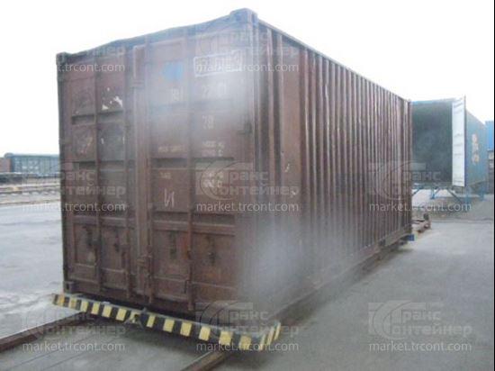 Изображение 20-футовый б/у контейнер №0206109